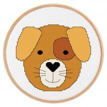 Kit Punto Croce - Princesse - Piccolo cane
