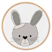 Kit Punto Croce - Princesse - Piccolo coniglio