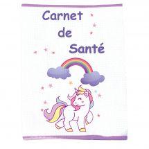 Kit per la copertina del libro a ricamo - Princesse - unicorni