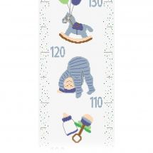 Kit di metri crescita da ricamo - Princesse - Bambino ragazzo