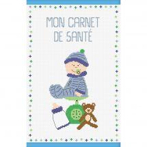 Kit per la copertina del libro a ricamo - Princesse - Bambino ragazzo