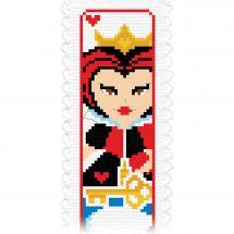 Kit segnalibro da ricamo - Princesse - Nel paese delle meraviglie