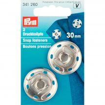 Bottoni a pressione - Prym - Bottoni a pressione per cucire -30 mm