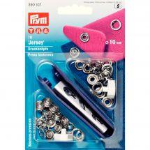 Bottoni a pressione - Prym - Kit bottoni a pressione Jersey - 10 mm