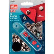 Bottoni a pressione - Prym - Kit bottoni a pressione Anorak - 12 mm