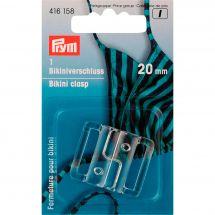 Accessorio di corsetteria - Prym - Chiusura trasparente per bikini - 20 mm
