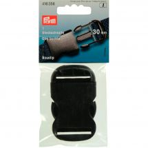 Fibbie e clip - Prym - Fibbia clip nera - 30 mm