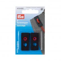 punte - Prym - stop cordone colore nero - 15 x 33 mm