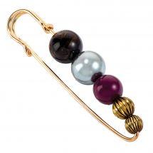 Spillone decorativo - Prym - Con perle 80mm