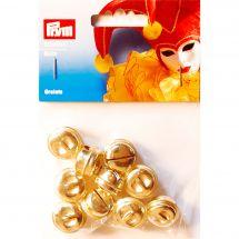 Decoro - Prym - campane da 19 mm - oro