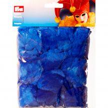 Decoro - Prym - Pompon blu - 70 mm