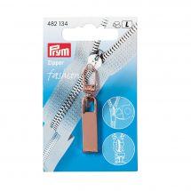 Linguetta per la chiusura - Prym - Fashion zipper - classic oro rosa