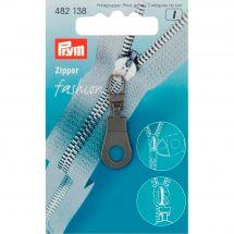 Linguetta per la chiusura - Prym - Fashion zipper - occhiello nero
