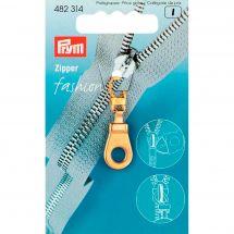 Linguetta per la chiusura - Prym - Fashion zipper - occhiello dorato