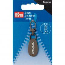 Linguetta per la chiusura - Premax - Fashion zipper - Handmade grigio