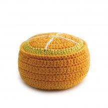Porta aghi - Prym - Gomitolo schiuma arancione