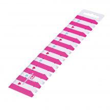 Regola da cucito - Prym - Righello rosa - 23 cm