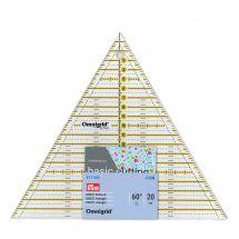 Regolo tascabile - Prym - Triangolo Omnigrid - 20x23 cm
