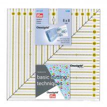Regolo tascabile - Prym - Omnigrid Square - 8x8 inch
