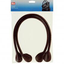 Accessorio per la borsa - Prym - 2 maniglie per borsa Theresa - marrone scuro