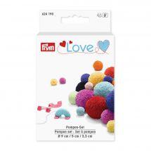 Accessorio creativo - Prym - Set di nappe Prym Love
