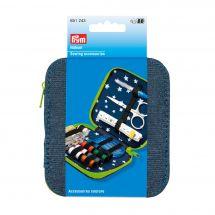 Kit da cucito - Prym - Kit da viaggio - blu jeans/verde