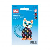 Etichetta ricamata - Prym - Gatto
