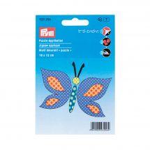 Etichetta ricamata - Prym - Farfalla