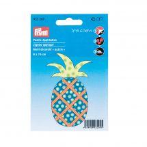 Etichetta ricamata - Prym - Ananas