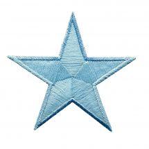 Termoadesiva - Prym - 2 motivi fosforescente stella blu
