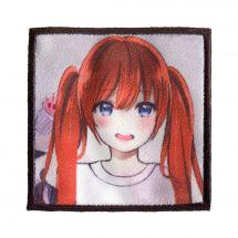 Termoadesiva - Prym - Etichetta K-Pop - Ragazza con i capelli rossi