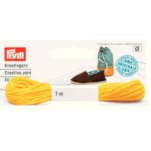 Accessorio espadrillas - Prym - Filo per lavori creativi giallo
