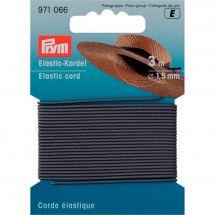 Elastica - Prym - Cordone elastico grigio 1,5 mm