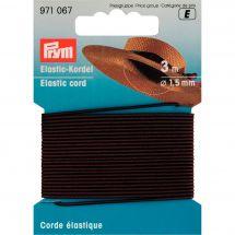 Elastica - Prym - Cordone elastico 1,5 mm marrone