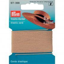 Elastica - Prym - Cordone elastico 1,5 mm beige