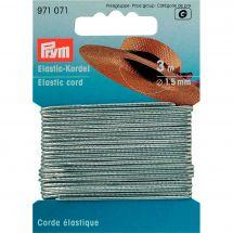 Elastica - Prym - Cordone elastico 1,5 mm argento