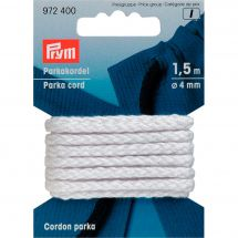 Cavi e Cordonieri - Prym - Cordino parka 4mm bianco