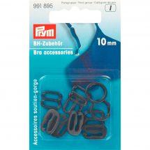 Accessorio di corsetteria - Prym - Accessori per reggiseno - 10 mm nero