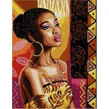 Kit Punto Croce - Luc Créations - L'Africana