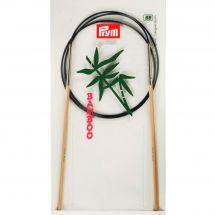 Aghi circolari per maglieria - Prym - Bambù - 80 cm