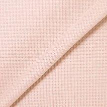 Tela da ricamo - LMC - Tela Aïda rosa iridescente 5.5 in coupon o al metro