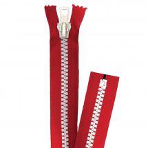 Chiusura non separabile - Prym - Chiusura Eclair ® Rosso/Bianco - Iniettato