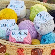 Cotone per maglieria - DMC - Natura Just Cotton Medium