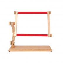 Telaio per ricamare - Luca-S - Telaio in legno con clip per tavolo