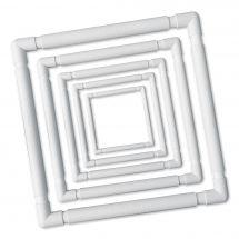 Telaio per ricamare - LMC - Telaio a clip bianco