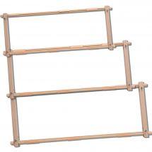 Telaio per ricamare - LMC - Telaio a clip di legno