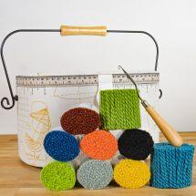 Lana annodata - Smyrnalaine - Fascina di lana per tappeto punto smirne