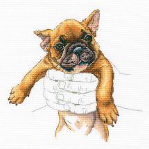Kit Punto Croce - RTO - Piccolo bulldog