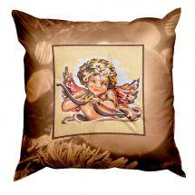 Kit cuscino canovacci - SEG de Paris - Cuscino da ricamare angelo
