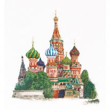 Kit Punto Croce - Théa Gouverneur - Cattedrale di San Basilio - Mosca